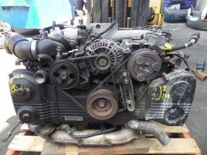 02-03 Subaru Impreza WRX 2.0L EJ20 Engine Long Block Bad Compression Runs GD GG