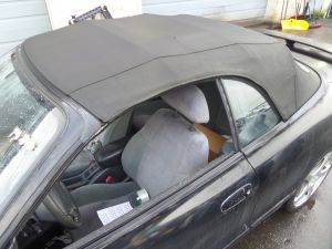 91-93 Toyota Celica ST183 Convertible Soft Top Roof Assy Bad Rear Window OEM