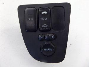 02-06 Acura RSX Door Mirror Adjust Switch Base & Type S OEM