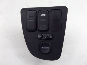 02-06 Acura RSX Door Mirror Adjust Switch Base & Type S OEM #577