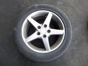 "Acura RSX Type-S 16"" Single Wheel 02-06 S6M 665A Tire Bald 5 x 114.3 OEM"