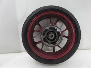 Kawasaki Ninja ZX-14 Rear Wheel Rim Red 06-11 OEM