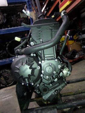 07-08 Yamaha YZF-R1 Core Engine Motor Ran But Had Rod Knock Good For Parts OEM