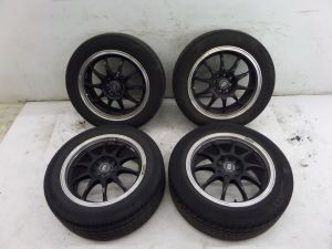 "16"" Enkei Wheels 4 x 100 & 114.3 Honda Civic Mazda Toyota MR2 Corolla VW"
