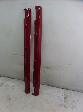 Acura RSX Type-S Side Skirt Rocker Panel Red 02-06 OEM 71800-S6MA-ZZ00