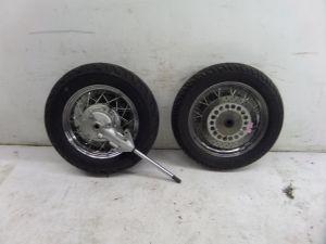 Yamaha V Star Spoke Wheels Rims OEM