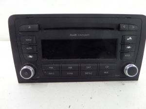 Audi A3 Concert Double DIN Stereo Radio Deck 8P 06-13 OEM 8P0 035 186 Q
