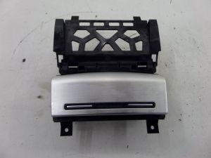Audi A3 Ash Tray Brushed Metal Silver 8P 06-13 OEM 8P0 857 951