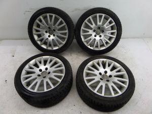 """Audi A3 17"""" Multispoke Wheels 8P 06-08 OEM"""