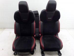 Subaru Impreza WRX STI Recaro Seats Red Black VA 15-20 OEM