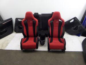 Honda Civic Type R Red Seats & Door Cards Hatch 60+ Pics FK4 FK7 17-20 OEM