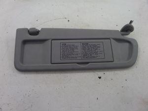 Honda Civic SI Right Sun Visor Grey FG1 06-11 OEM