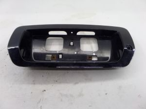 Honda Civic SI License Plate Surround Frame Trim Black FG1 74890-SVAA-A010 Coupe