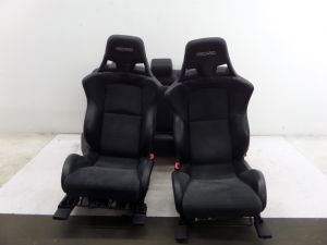08-15 Mitsubishi Lancer Ralli Art Recaro Seats Evo X Sedan OEM